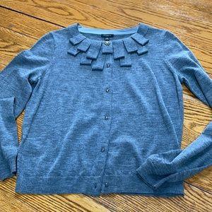 Ann Taylor gray cardigan, size medium